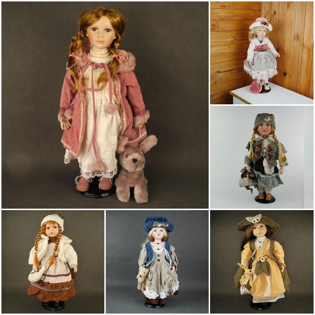 sběratelské porcelánové panenky