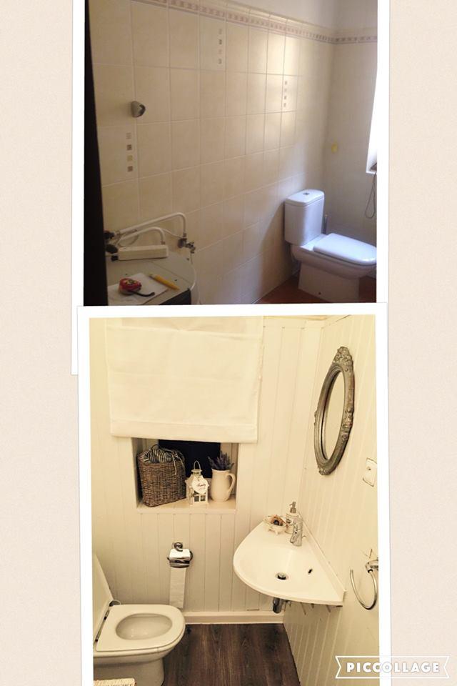 rekonstrukce koupelny ve venkovském stylu