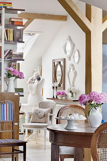 květiny v interiéru