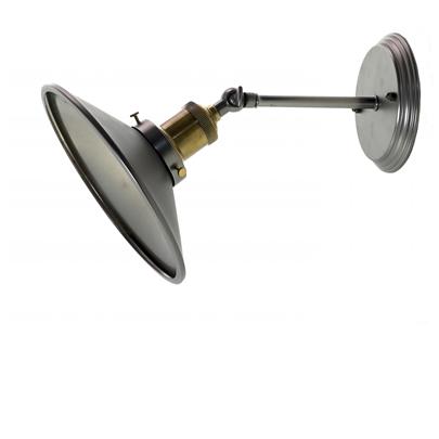nástěnná lampa v industriálním stylu