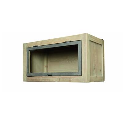 vrchní prosklená kuchyňská skříňka