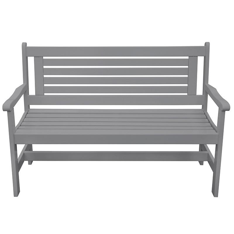 Dřevěná zahradní lavice