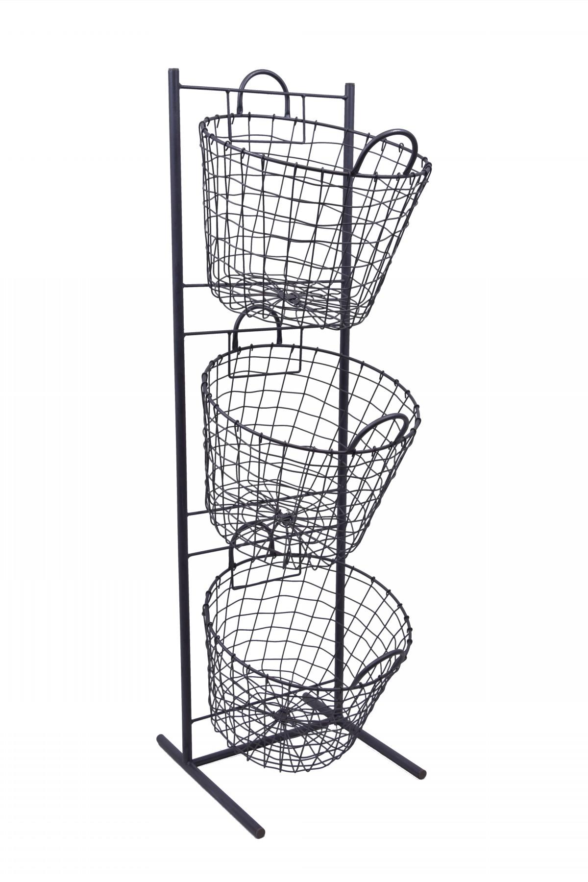 kovové košíky