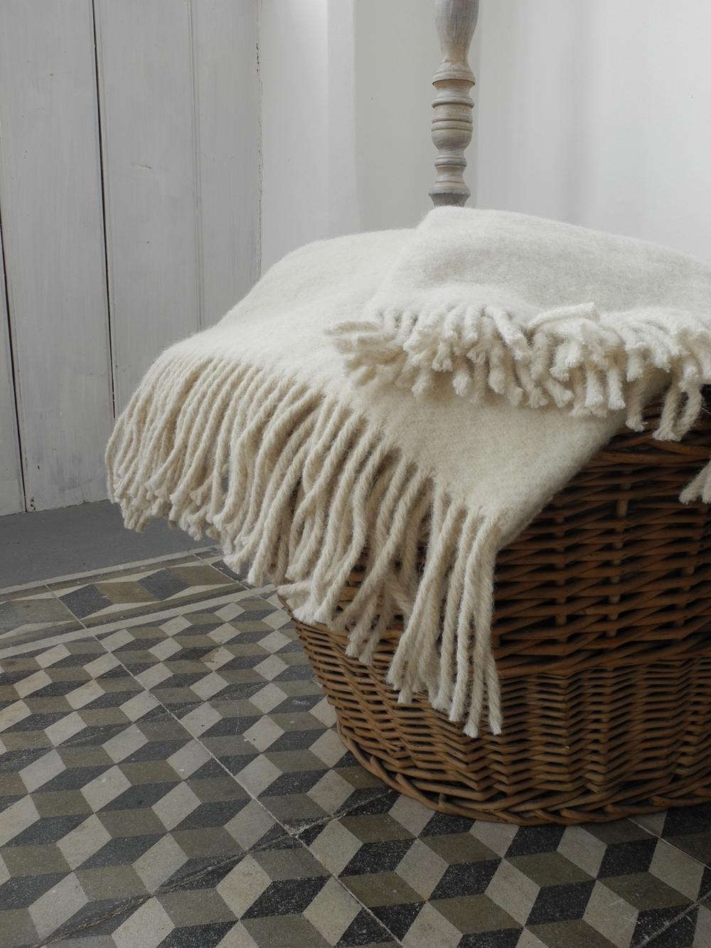 vlněná deka