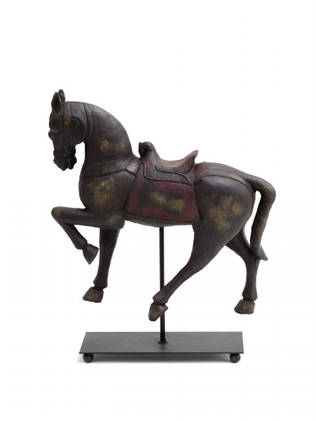 dekorace dřevěný kůň
