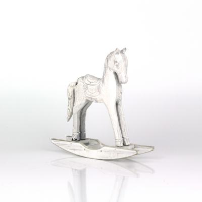 Vánoční dekorace houpací kůň