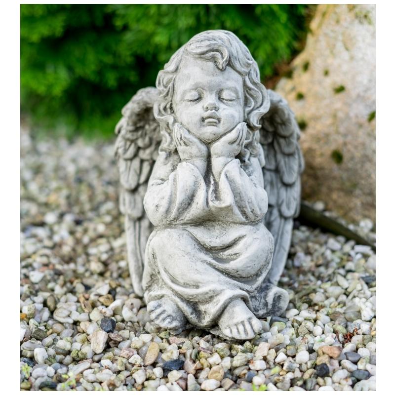 dekorace na hrob anděl