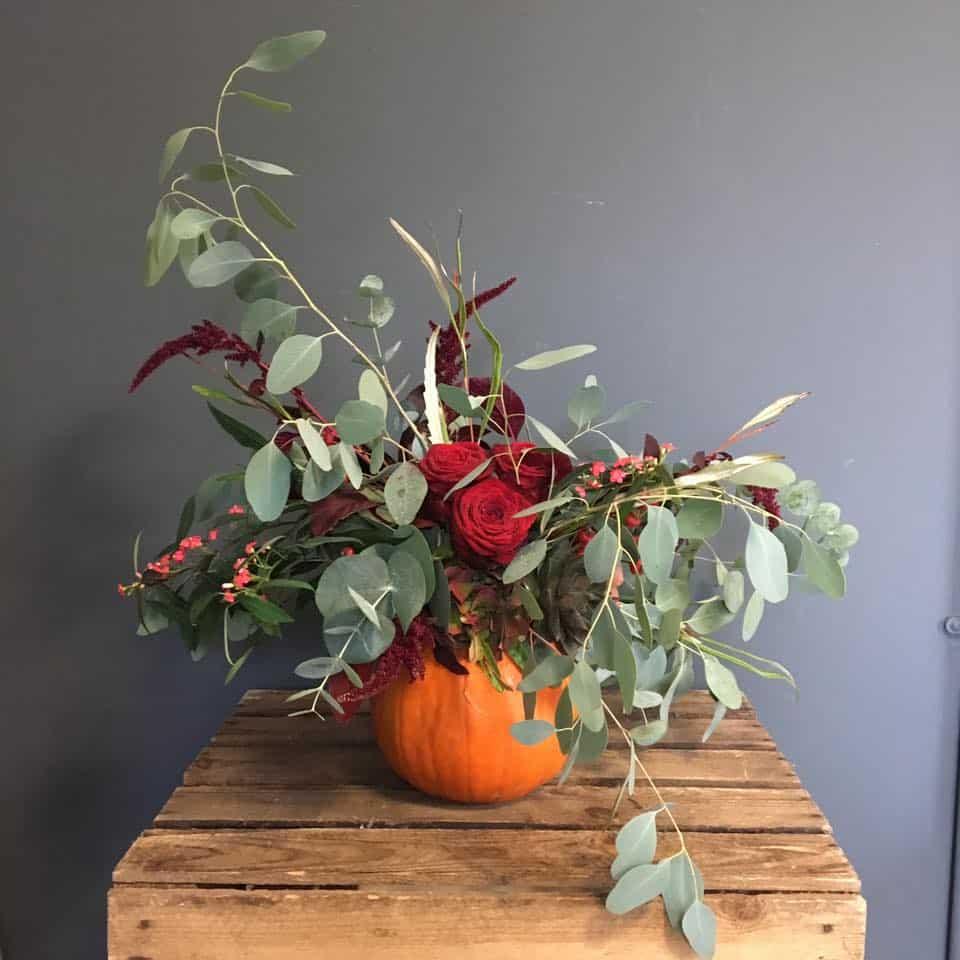 podzimní dekorace dýně