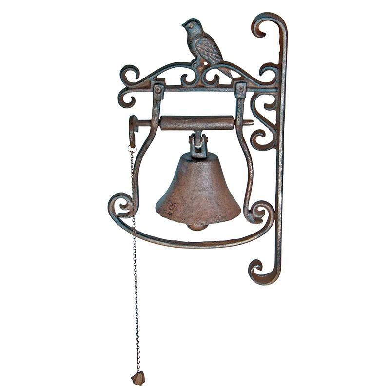 litinový nástěnný zvonek