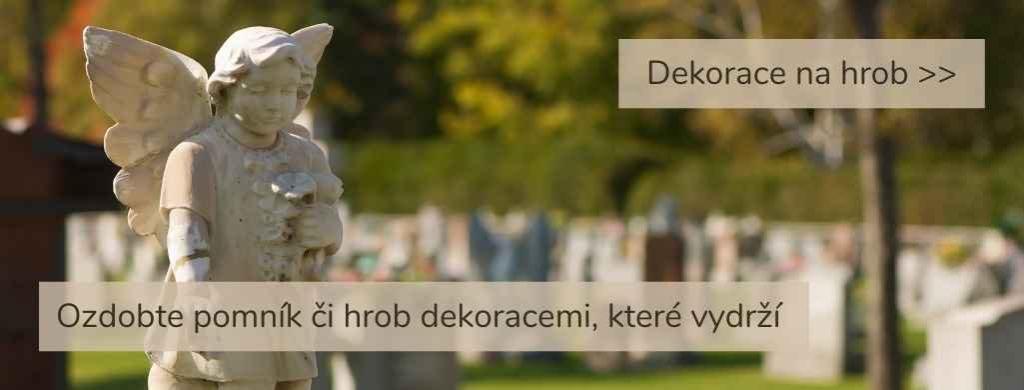 Dekorace na hrob