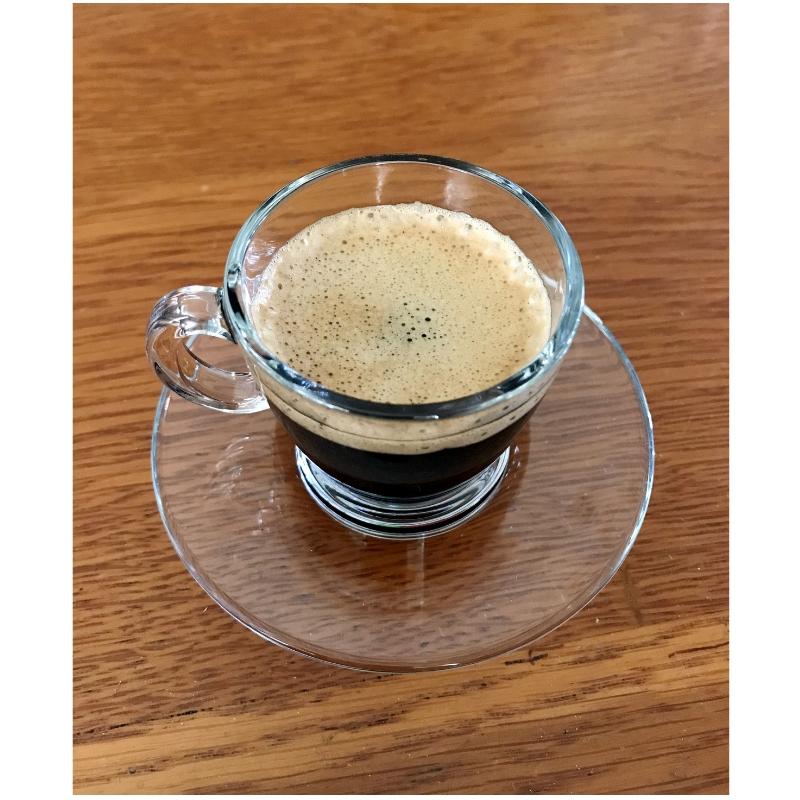 Dvojitá káva espressa
