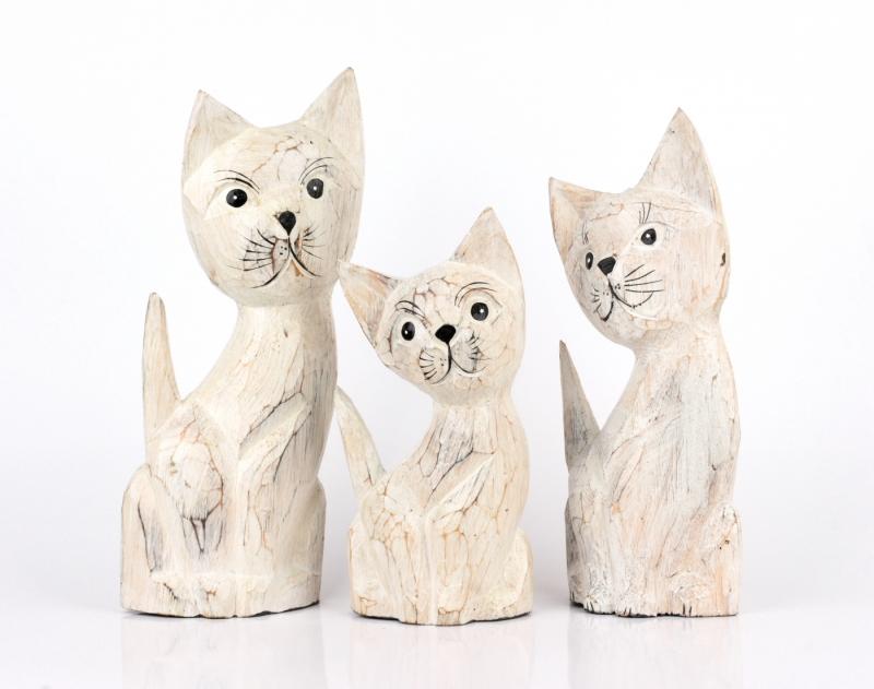 Soška kočky