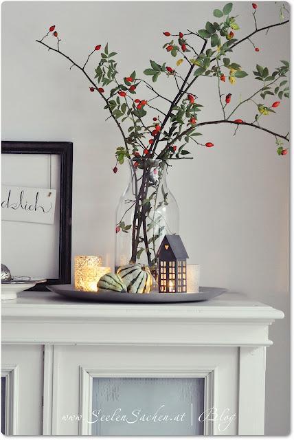vyrábíme podzimní dekorace