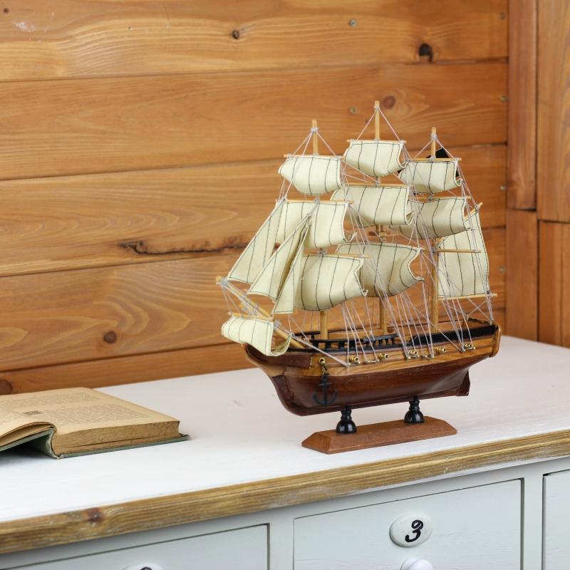 historicky-model-piratska-lo-28cm