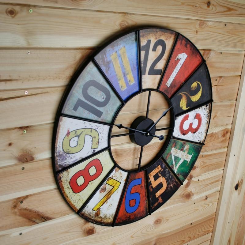 dekorační hodiny - házecí terč