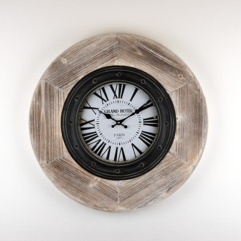nástěnné industriální hodiny