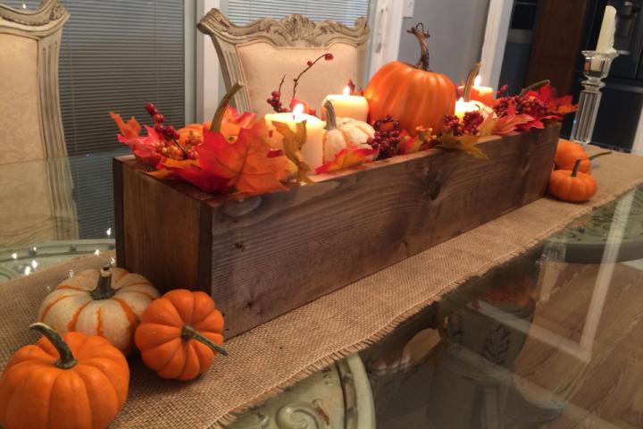 inspirace na podzimní dekorace