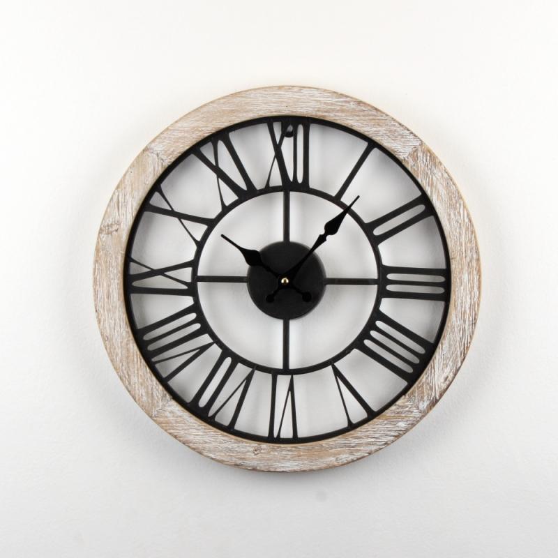 industriální nástěnné hodiny