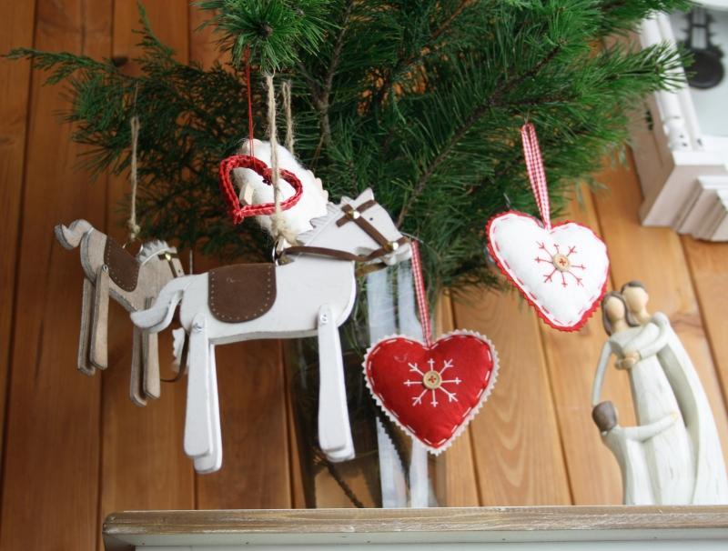 závěsné vánoční ozdoby