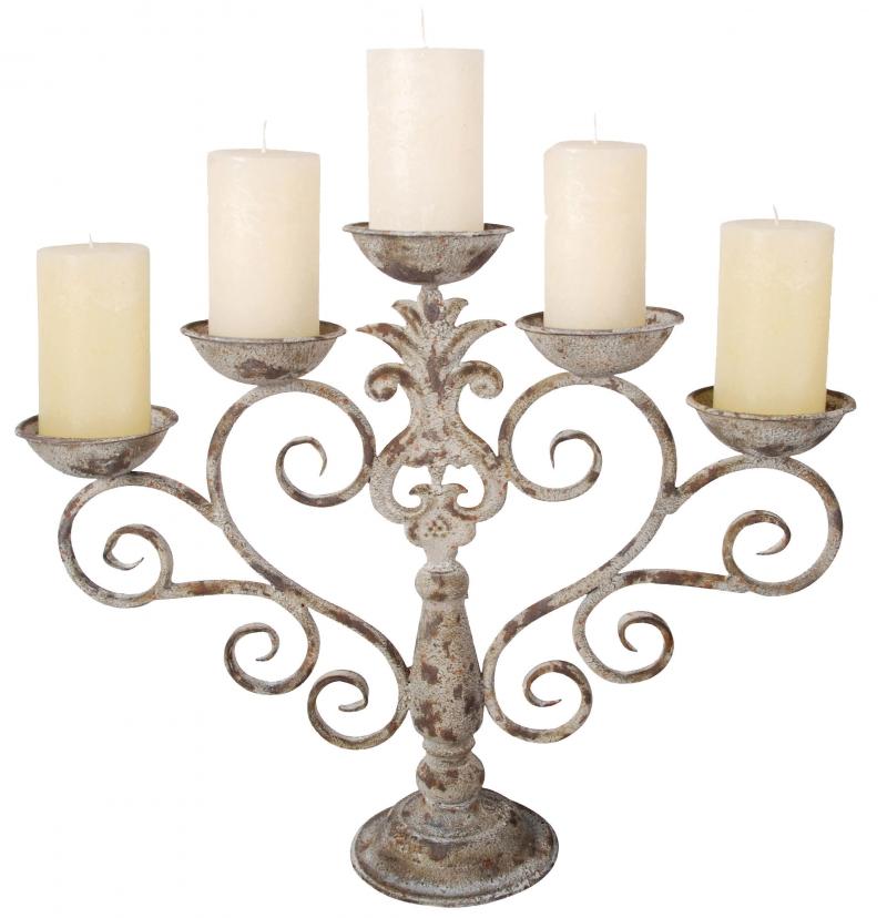 pětiramenný svícen