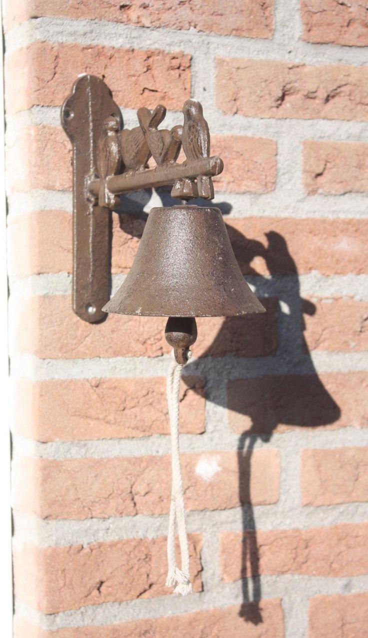 litinový zvonek
