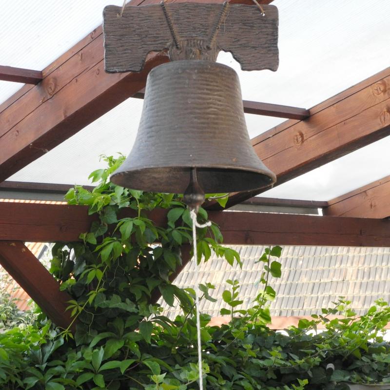 litinový zvon do zvoničky
