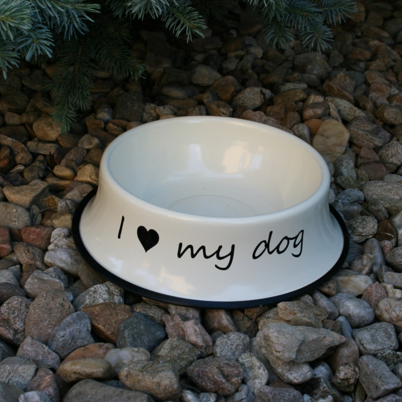 miska pro psa I LOVE MY DOG