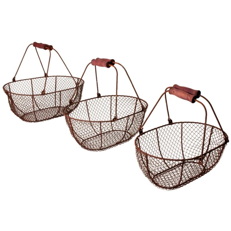 Drátěný nákupní košík