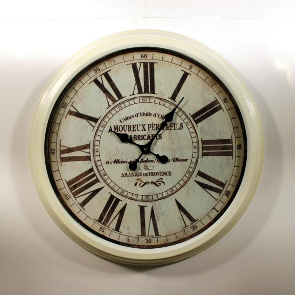 kovové velké nástěnné hodiny