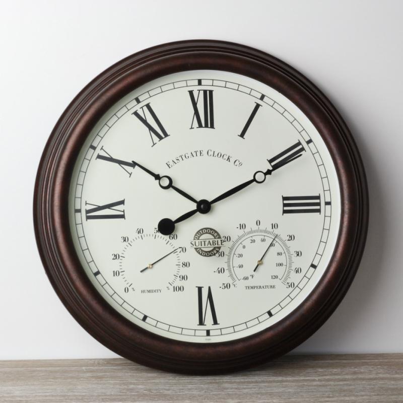 venkovní hodiny s římskými číslicemi