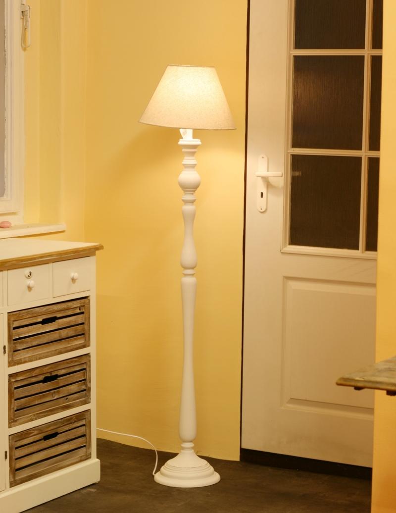 Stojací lampa retro
