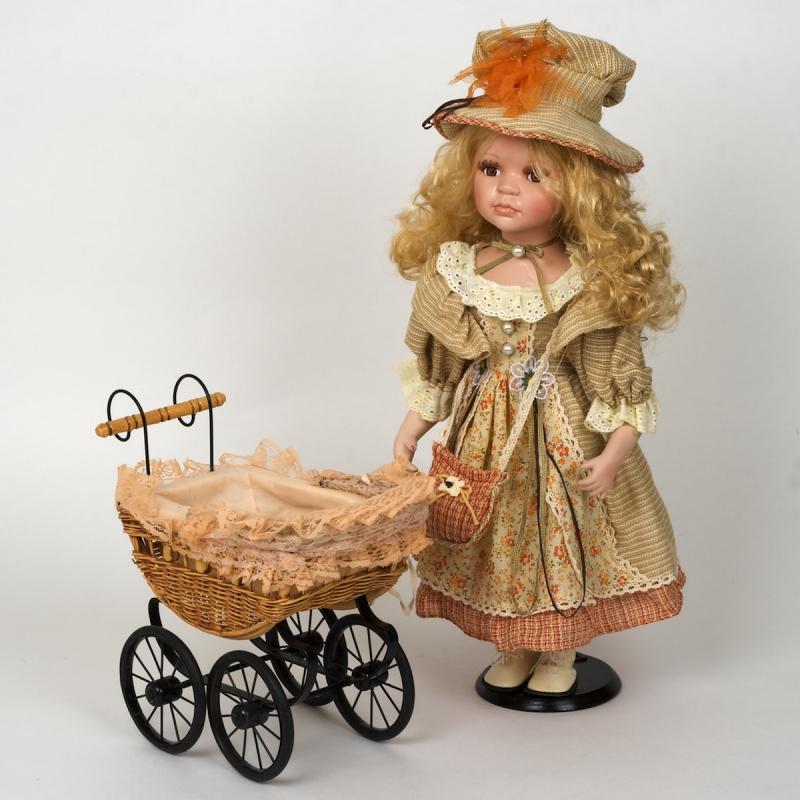 sběratelský kočárek pro panenky