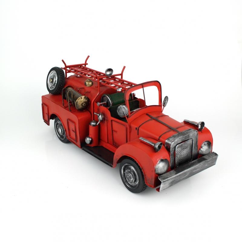 Hasičské auto retro model