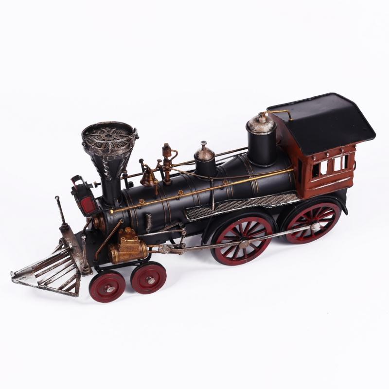 Model lokomotivy retro