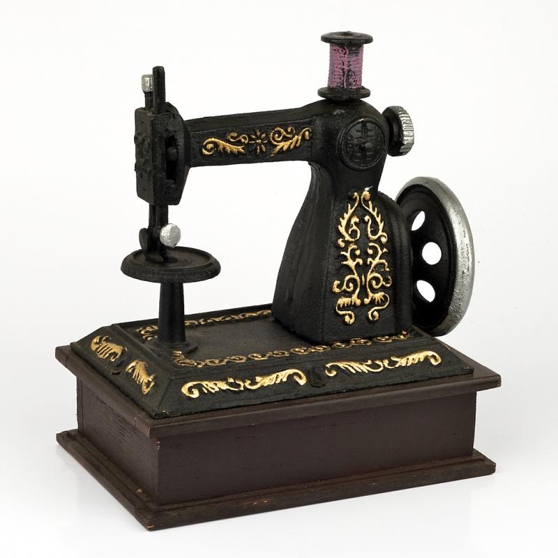 dekorace šicí stroj