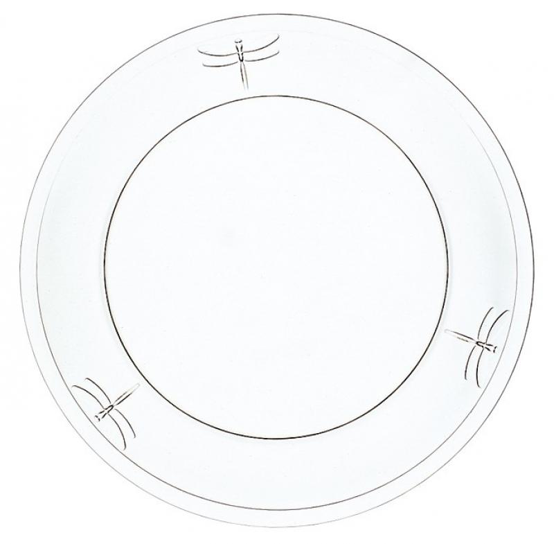 Skleněný talíř