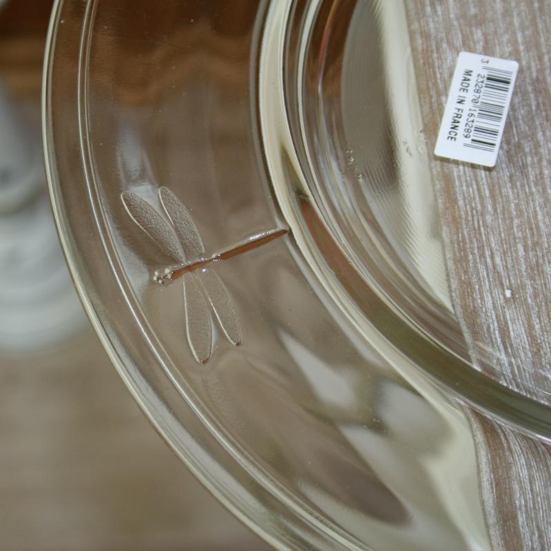 talíř libellules