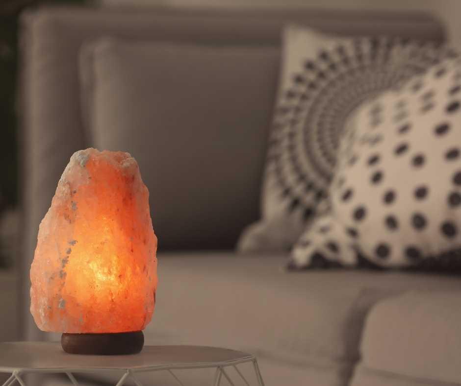 Solná lampa elektrická