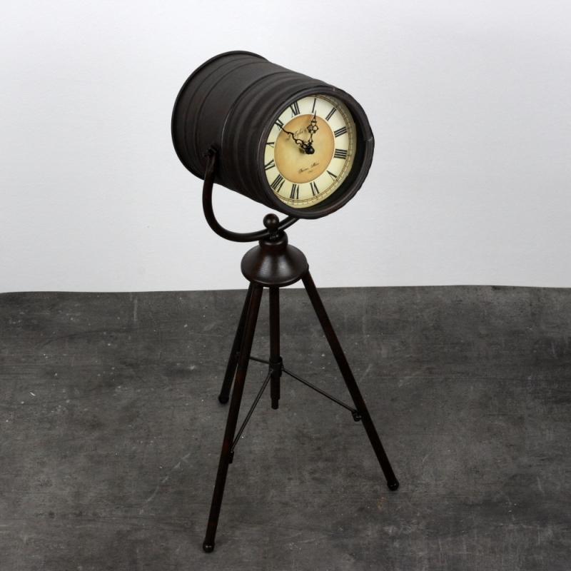 stolní hodiny dalekohled