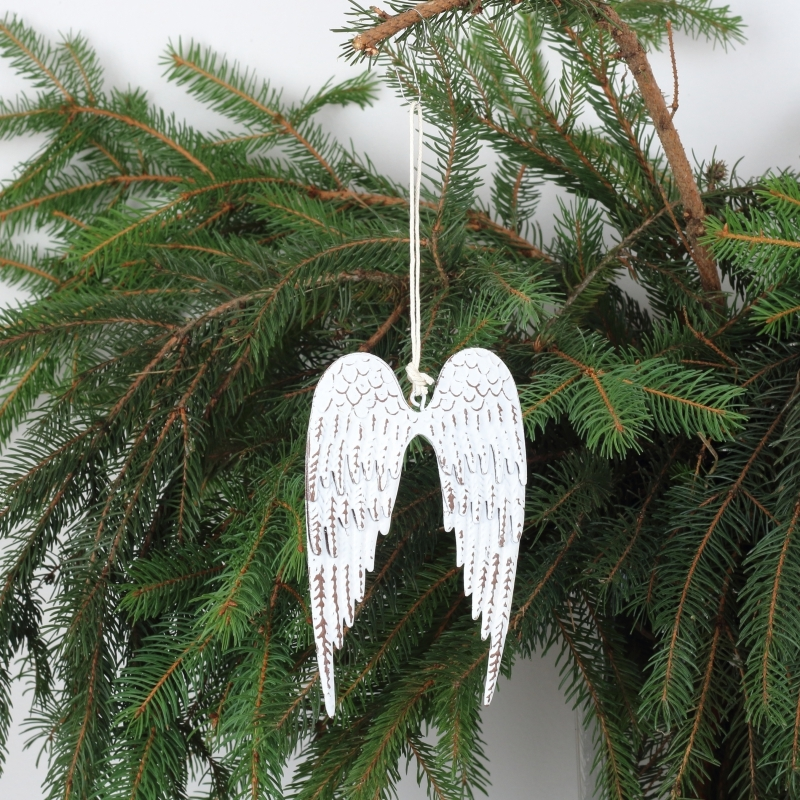 kovové vánoční ozdoby