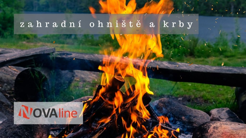 zahradní venkovní otovřené ohniště