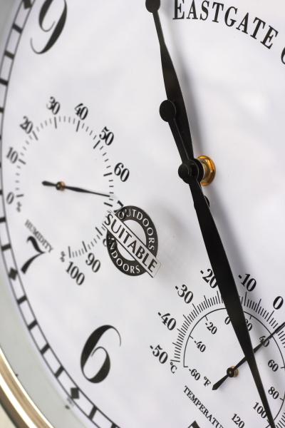 venkovní hodiny a krytý strojek