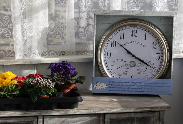 venkovní hodiny 38cm